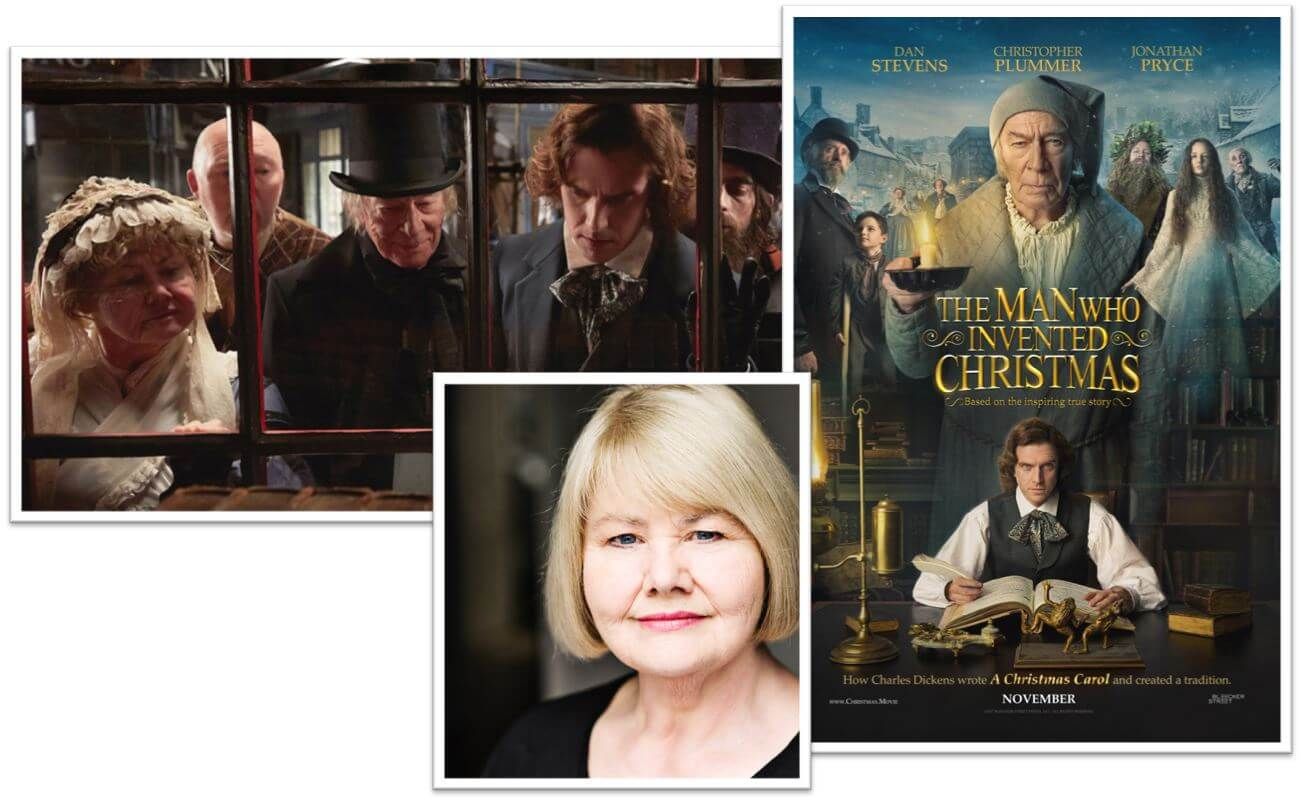 The Man Who Invented Christmas Poster.Annette Badland In The Man Who Invented Christmas